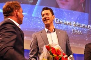 Daan Bielefeld van DSM Mobiliteitsmanager van het jaar 2015