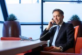 Op de foto, René Frauenfelder, de nieuwe directeur Juridische Zaken bij Bovemij. Lian Wittenberg en Maikel van Ochten vormen nieuw directieteam