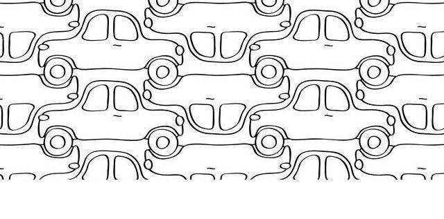 """Afbeelding behorende bij """"Laat al die stilstaande auto's vooral rijden!"""""""