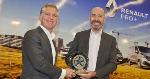 Links: Machiel van der Kuijl, algemeen directeur EVO. Rechts: Pascal Schmitt, Wereldwijd Sales & Marketing Director LCV Renault