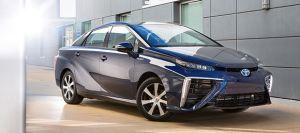 De Toyota Mirai; vanaf volgend jaar in productie
