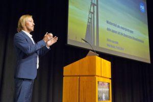 Chris van Dijk van de RAI Vereniging en lid van het Nationaal Waterstof forum