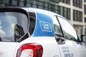 car2go wächst 2016 im weltweiten Carsharing-Geschäft. // car2go is growing in the global car-sharing business.