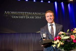 André de Boer, Mobiliteitsmanager van het Jaar 2014 en nu deel van de awardcommissie