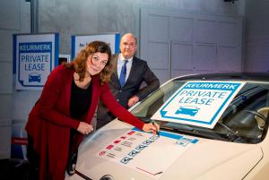 Sandra de Jong van de Consumentenbond en Arnold Koopmans van Stichting Keurmerk Private Lease