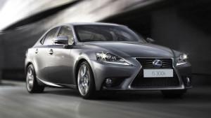 Lexus IS 300h: zuinigste benzineauto in de categorie 'groot'