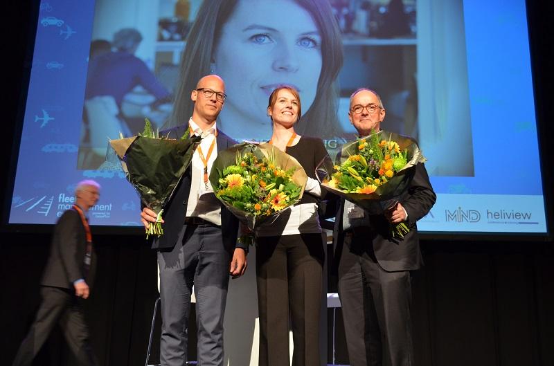 De drie genomineerden voor de Mobiliteitsmanager van het Jaar award