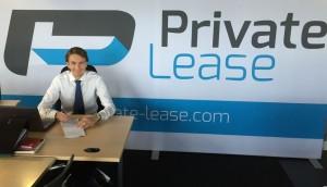Tim van der Vooren, initiatiefnemer van Private-Lease.com