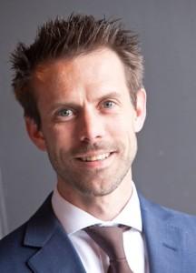 Stijn van den Broek, projectmanager van het Fleetmanagement event
